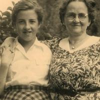 Ma (Dikkie) en Moeke