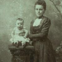 Moeke als babytje 1895