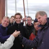 015 bootje varen in FRiesland