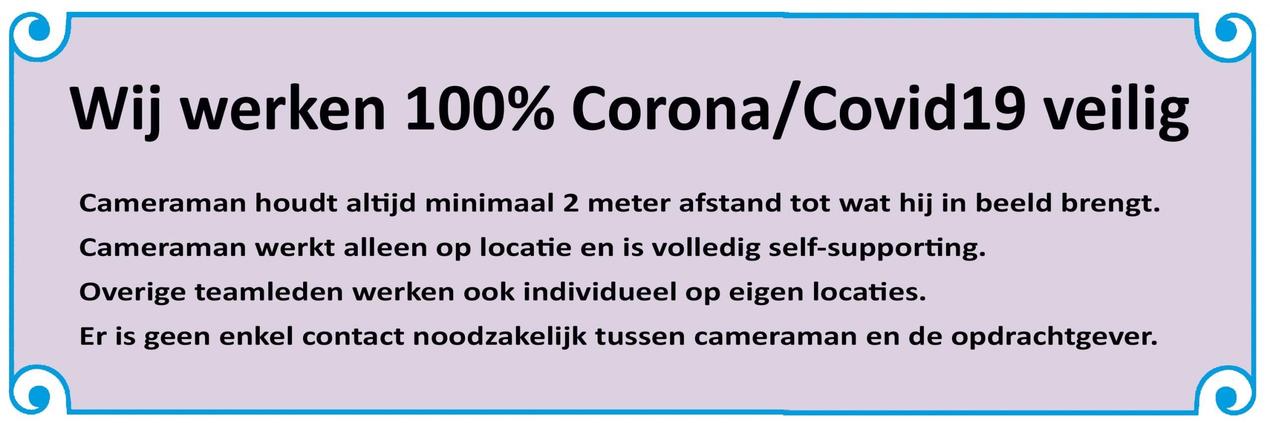 100% Corona-veilig