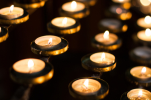 Kaarsen om te gedenken