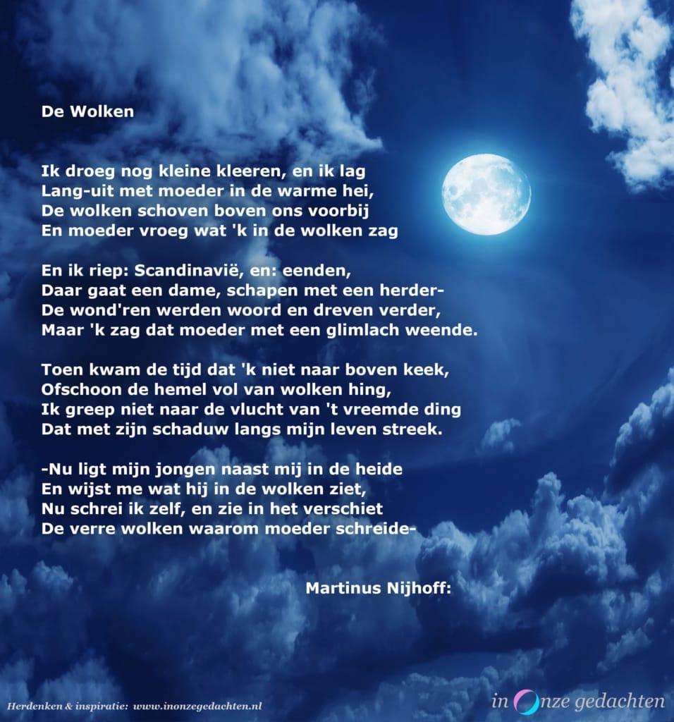 De wolken - Martinus Nijhoff