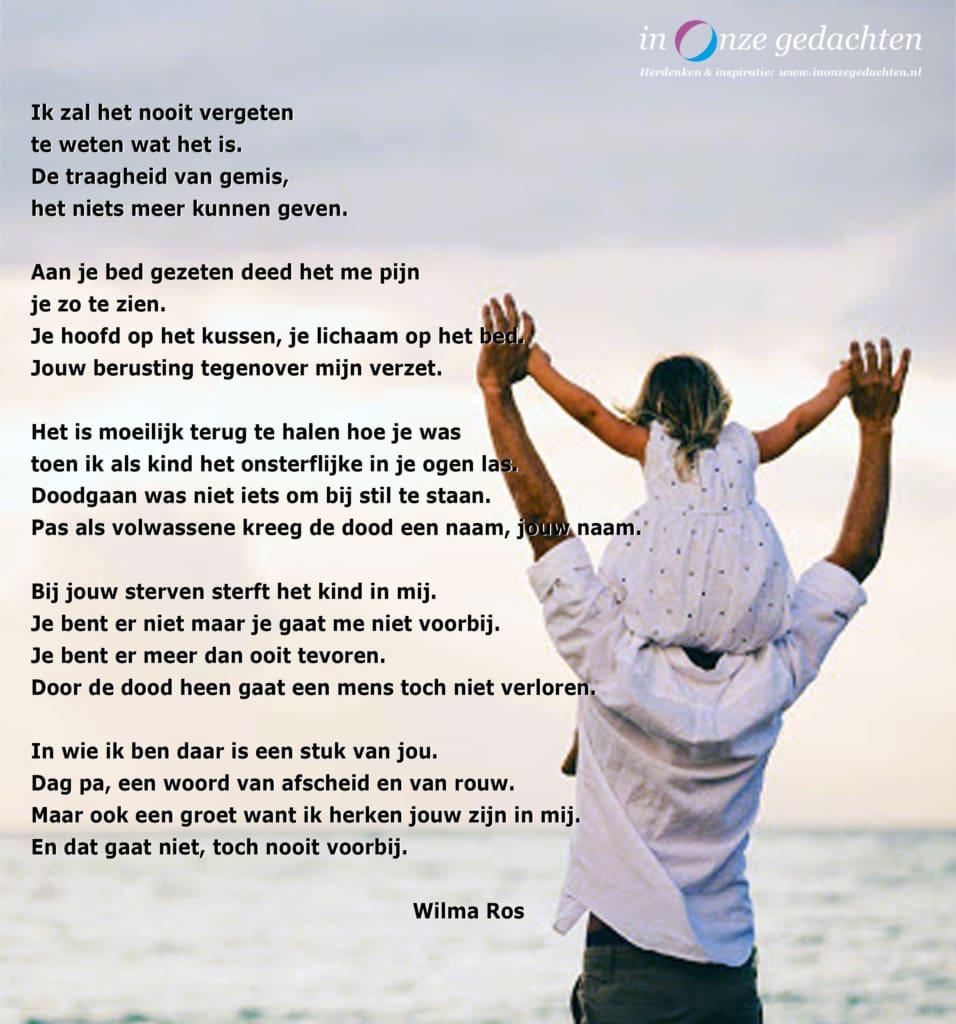 Ik zal het nooit vergeten - Wilma Ros