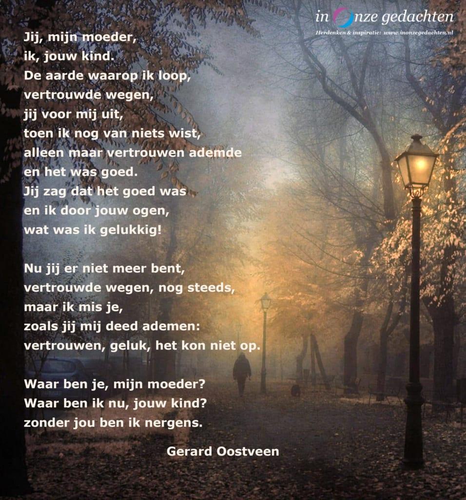 Jij mijn moeder - Gerard Oostveen