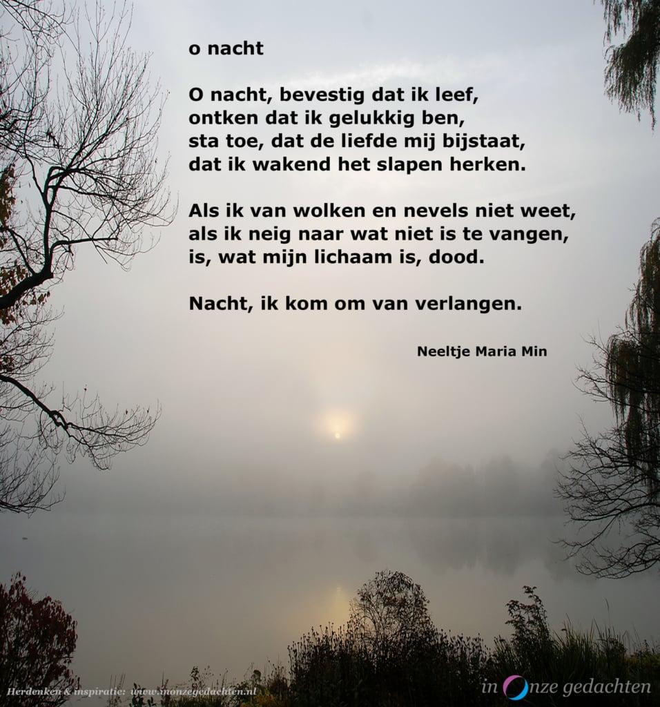 O nacht - Neeltje Maria Min