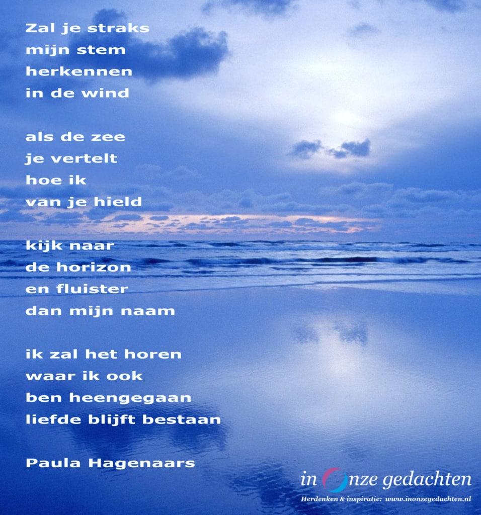 Zal je straks - Paula Hagenaars